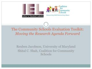 The Community Schools Evaluation Toolkit: Moving the Research Agenda Forward