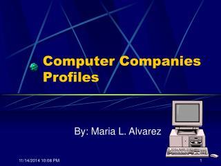 Computer Companies Profiles