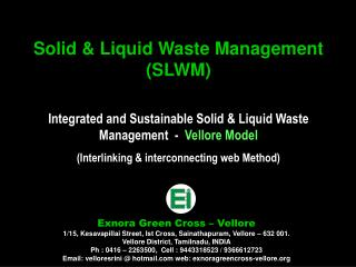 Solid & Liquid Waste Management (SLWM)