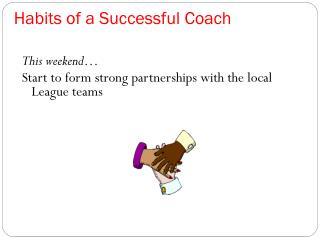Habits of a Successful Coach