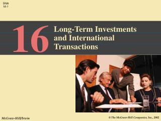 Long-Term Investments and International Transactions