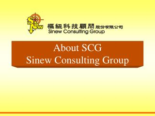 About  SCG Sinew Consulting Group