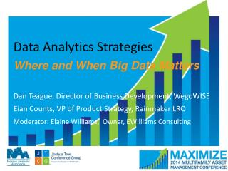 Data Analytics  Strategies