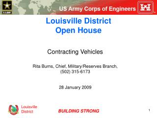 Louisville District Open House