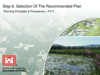 Step 6: Selection Of The Recommended Plan