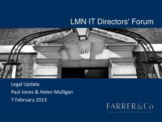 LMN IT Directors' Forum