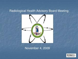 Radiological Health Advisory Board Meeting