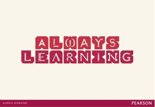 Pearson Perspective  on  Improving Learning  in the 21st Century: