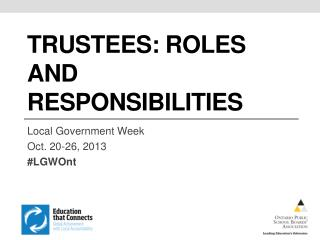 trustees: roles and responsibilities