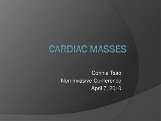 Cardiac Masses
