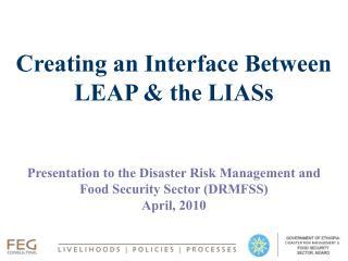 Creating an Interface Between LEAP & the LIASs