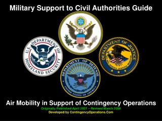 Military Support to Civil Authorities Guide