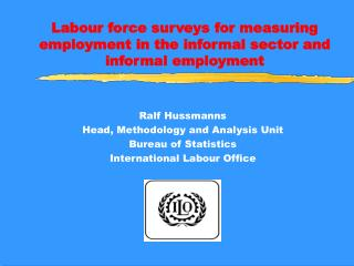 Labour force surveys for measuring employment in the informal sector and informal employment