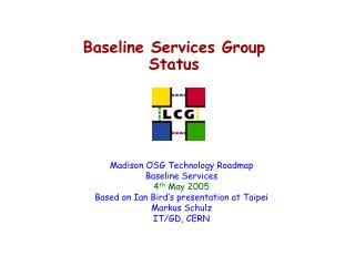 Baseline Services Group Status