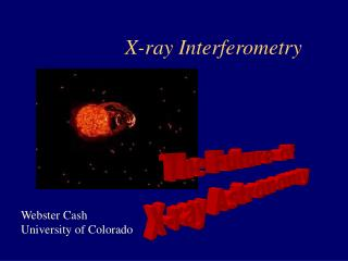 X-ray Interferometry