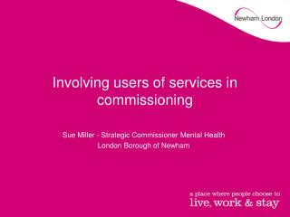 Involving users of services in commissioning