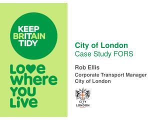 City of London Case Study FORS