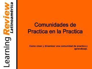 """""""Aprendizaje Informal desde un Medio de Comunicación Especializado""""  Caso: Learning Review"""