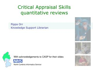 Critical Appraisal Skills quantitative reviews
