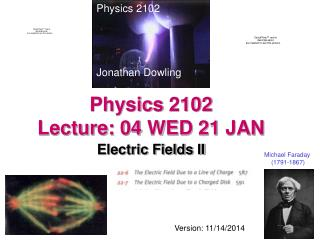 Physics 2102  Lecture: 04 WED 21 JAN