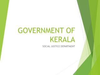 GOVERNMENT OF KERALA