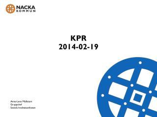 KPR  2014-02-19