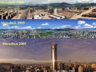 Shenzhen 1995