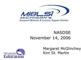 NASDSE November 14, 2006
