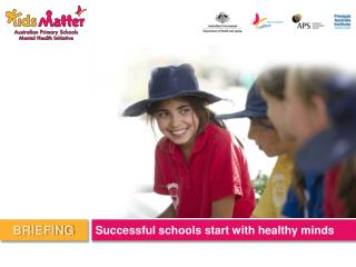Successful schools start with healthy minds