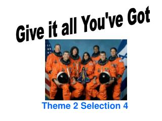 Theme 2 Selection 4
