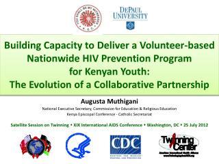 Augusta Muthigani National Executive  Secretary, Commission  for Education & Religious  Education
