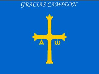 GRACIAS CAMPEON