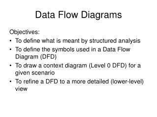 Data Flow Diagrams