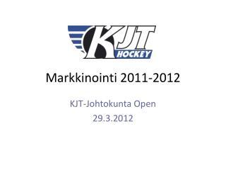 Markkinointi 2011-2012