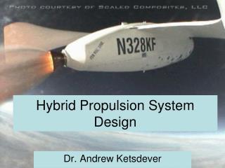 Hybrid Propulsion System Design