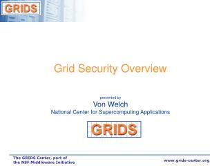 Grid Security Overview