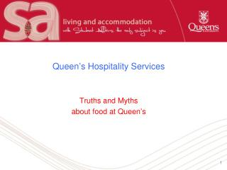 Queen's Hospitality Services