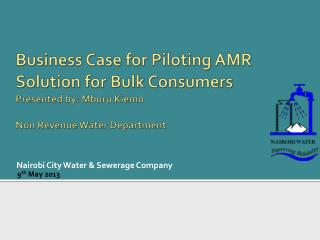 Nairobi City Water & Sewerage C ompany