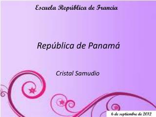 Rep�blica de Panam�