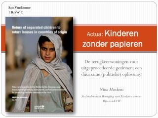 Actua :  Kinderen zonder papieren