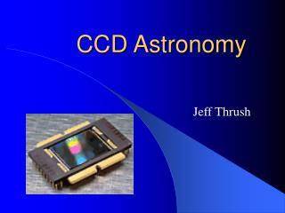 CCD Astronomy