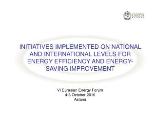 Energy Charter Protocol on Energy Efficiency and Related Environmental Aspects