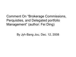 By Jyh-Bang Jou, Dec. 12, 2008