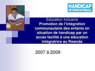 2007 � 2009