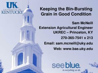 Keeping the Bin-Bursting Grain in Good Condition