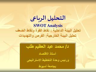SWOT Analysis    :        :