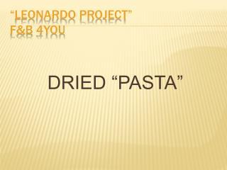 Leonardo Project  FB 4You