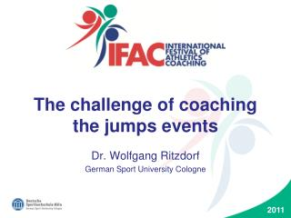 The challenge of coaching the jumps events
