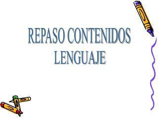 REPASO CONTENIDOS