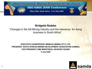 Bridgette Radebe